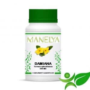 60 Gélules de Damiana