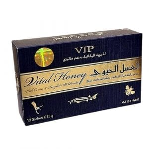 5 sticks de Shark Vital Honey
